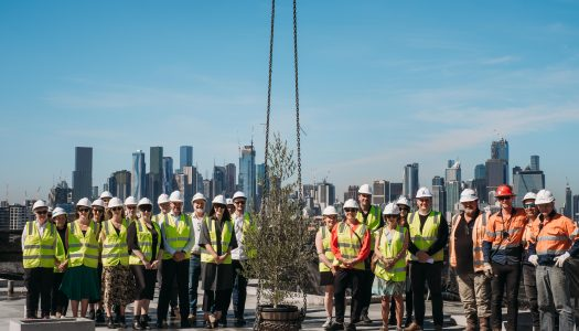 393 MKR Topping Out
